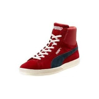 SCARPA ALTA PUMA SHOES ARCHIVE LITE SUEDE MID Red/NewNavy/White stg