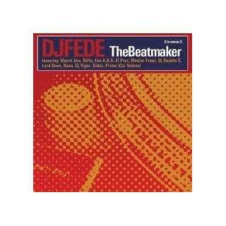 CD DJ FEDE - THE BEATMAKER stg