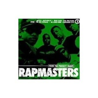 CD AAVV - RAPMASTERS stg