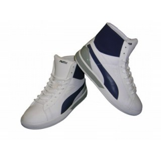 SCARPA ALTA PUMA SHOES FUTURE LITE SUEDE MID White/Navy stg