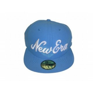 CAPPELLO FITTED NEW ERA CAP FITTED NEW ERA SCRIPT AirForceBlue/White stg