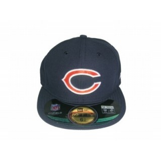 CAPPELLO FITTED NEW ERA CAP FITTED NFL ON-FIELD CHICAGO BEARS GAME Team stg