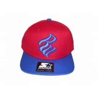 CAPPELLO SNAPBACK STARTER CAP SNAPBACK ROCAWEAR RW Red/Royal