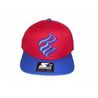 CAPPELLO SNAPBACK STARTER CAP SNAPBACK ROCAWEAR RW Red/Royal stg