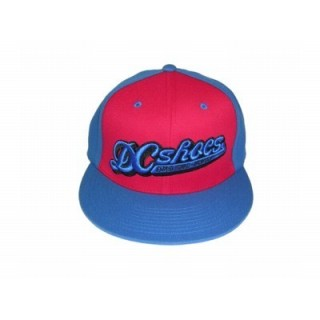 CAPPELLO SNAPBACK DC SHOES CAP SPORTAGE Red/Royal