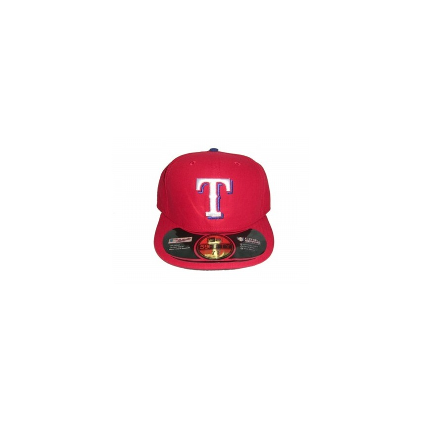 6e778af6342 CAPPELLO FITTED NEW ERA CAP FITTED MLB ON-FIELD TEXAS RANGERS ALTERNATE  Team unico