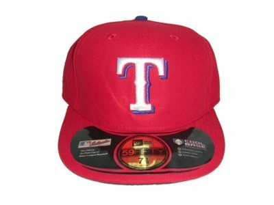 419a96ac531 CAPPELLO FITTED NEW ERA CAP FITTED MLB ON-FIELD TEXAS RANGERS ALTERNATE  Team unico