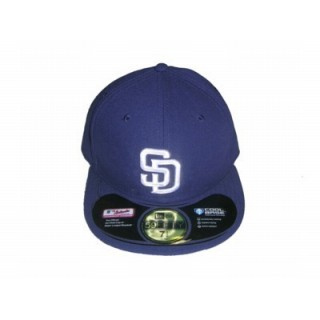 ce49eeefcc5 CAPPELLO FITTED NEW ERA CAP FITTED MLB ON-FIELD SAN DIEGO PADRES HOME Team.  ‹ ›