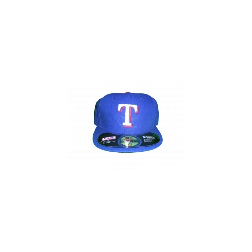 CAPPELLO FITTED NEW ERA CAP FITTED MLB ON-FIELD TEXAS RANGERS GAME Team  unico e1f270adec7c