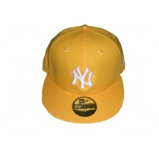 7af99ef5a52 NEW ERA. CAPPELLO FITTED NEW ERA CAP FITTED MLB NEW YORK YANKEES DarkYellow  White