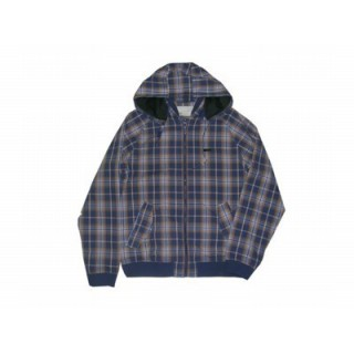 GIUBBOTTO WESC JACKET ZIP CHECK Blue/Orange stg