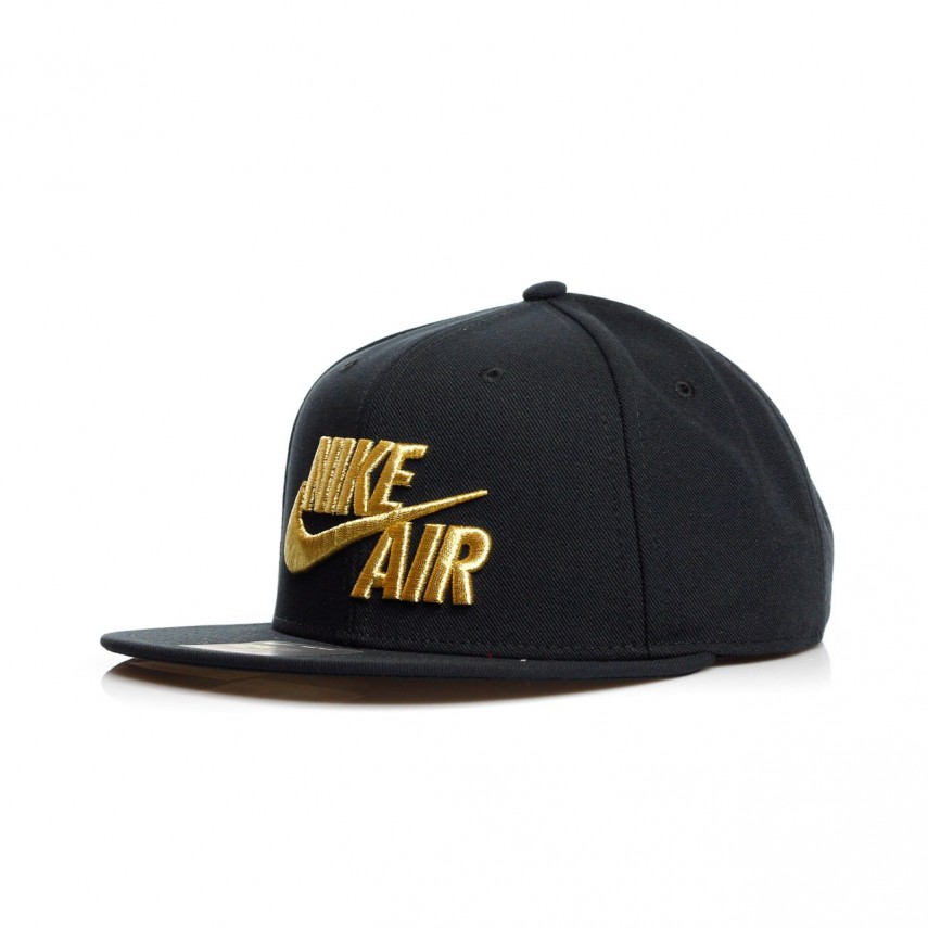 64aca6ccb4907 CAPPELLO SNAPBACK AIR TRUE EOS BLACK METALLIC GOLD