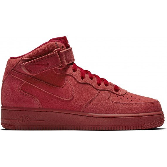 nike air force 1 mid 07 alte rosse
