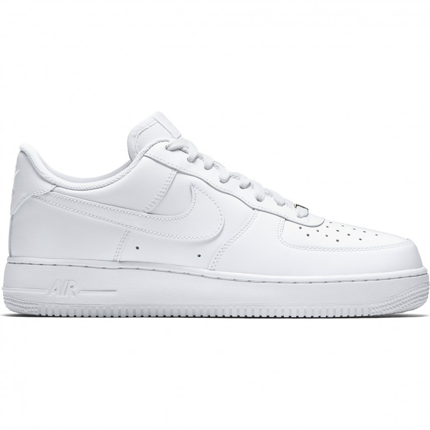 air force 1 bianca e nera uomo