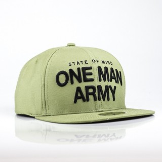 CAPPELLO SNAPBACK ONE MAN ARMY