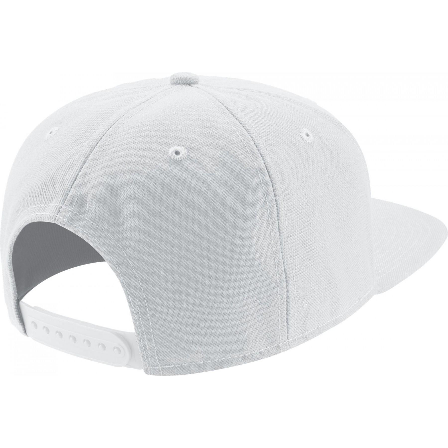 foto ufficiali ultimo design arriva nuovo CAPPELLO SNAPBACK NIKE PRO CAP SWOOSH CLASSIC BIANCO/NERO ...