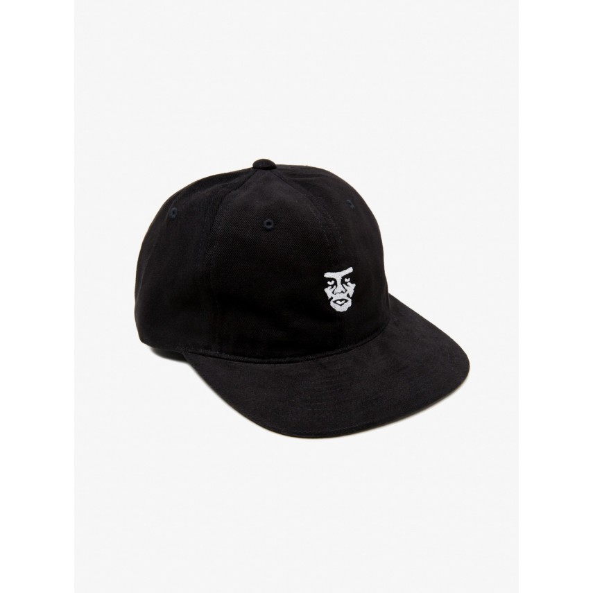 CAPPELLO SNAPBACK CREEPER FACE 6 PANEL HAT NERO  99d48b80de7c