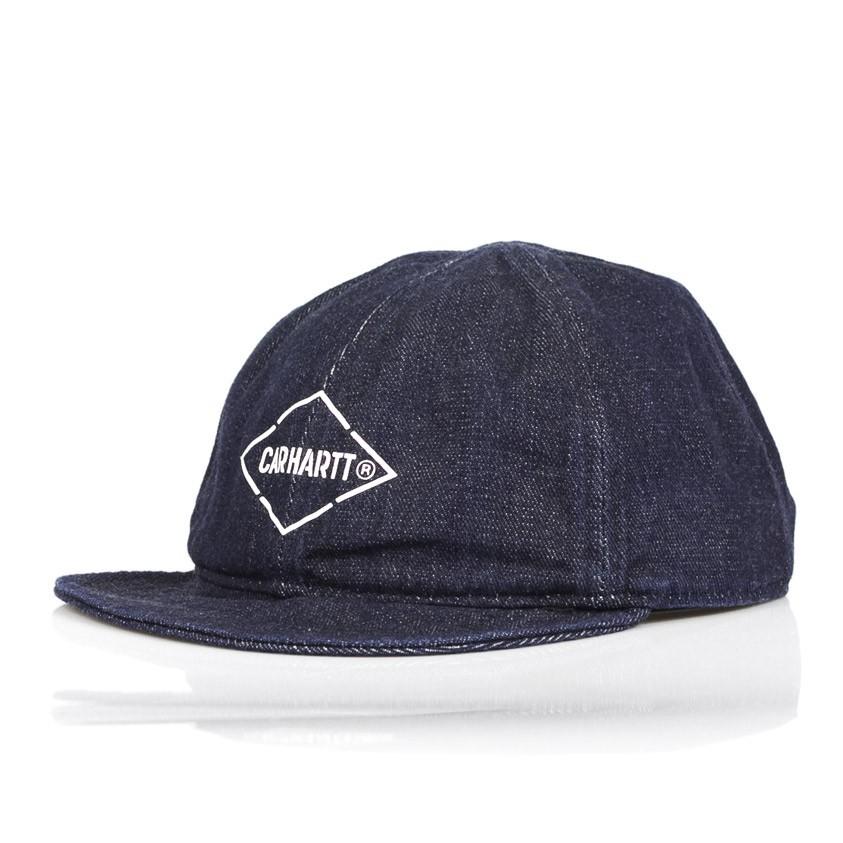 vendita calda selezione premium alta moda CAPPELLO DESTRUTTURATO BOOTH CAP DENIM SCURO | Atipicishop.com