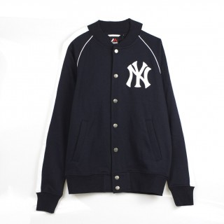 FELPA GIROCOLLO MELTER FLEECE LETTERMAN JACKET NEYYAN