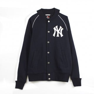 FELPA GIROCOLLO MELTER FLEECE LETTERMAN JACKET NEYYAN stg
