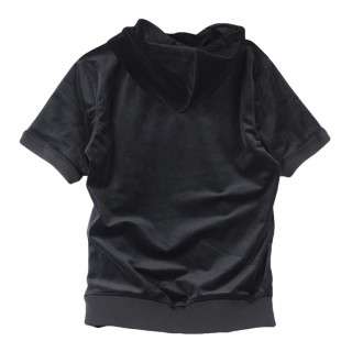 FELPA GIROCOLLO NEW AGE SHORT SLEEVE HOODY