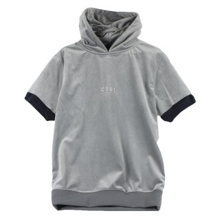 FELPA GIROCOLLO NEW AGE SHORT SLEEVE HOODY stg