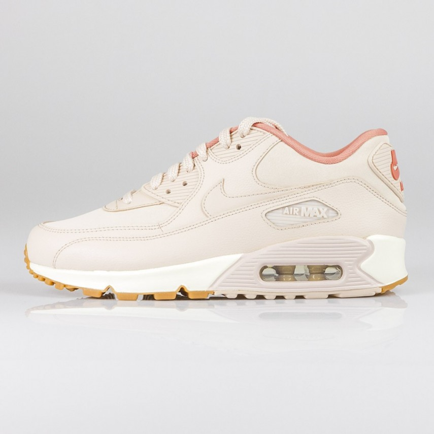 super popular 5a727 1c052 SCARPA BASSA W AIR MAX 90 LEATHER ROSA BIANCO   Atipicishop.com