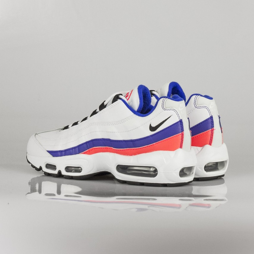 Nike Shoes Mens Air Max 95 Essential Track Red White