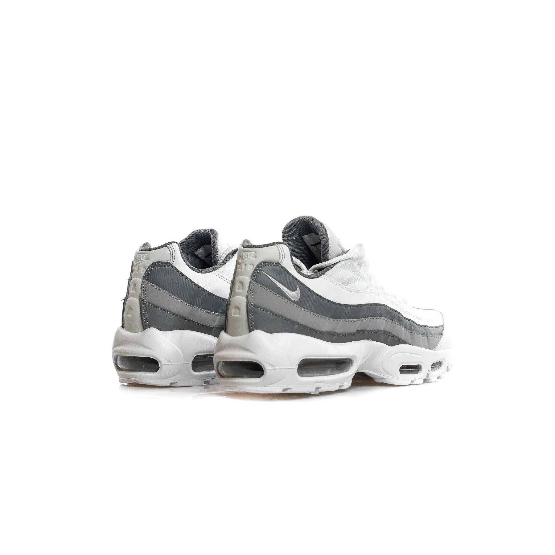 latest discount skate shoes latest fashion SCARPA BASSA AIR MAX 95 ESSENTIAL WHITE/WHITE/COOL GREY