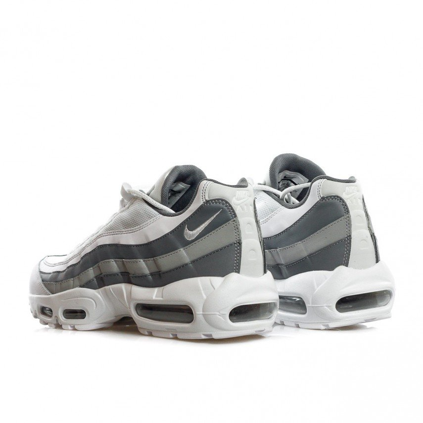 new style a1ad0 b620a SCARPA BASSA AIR MAX 95 ESSENTIAL WHITE/WHITE/COOL GREY