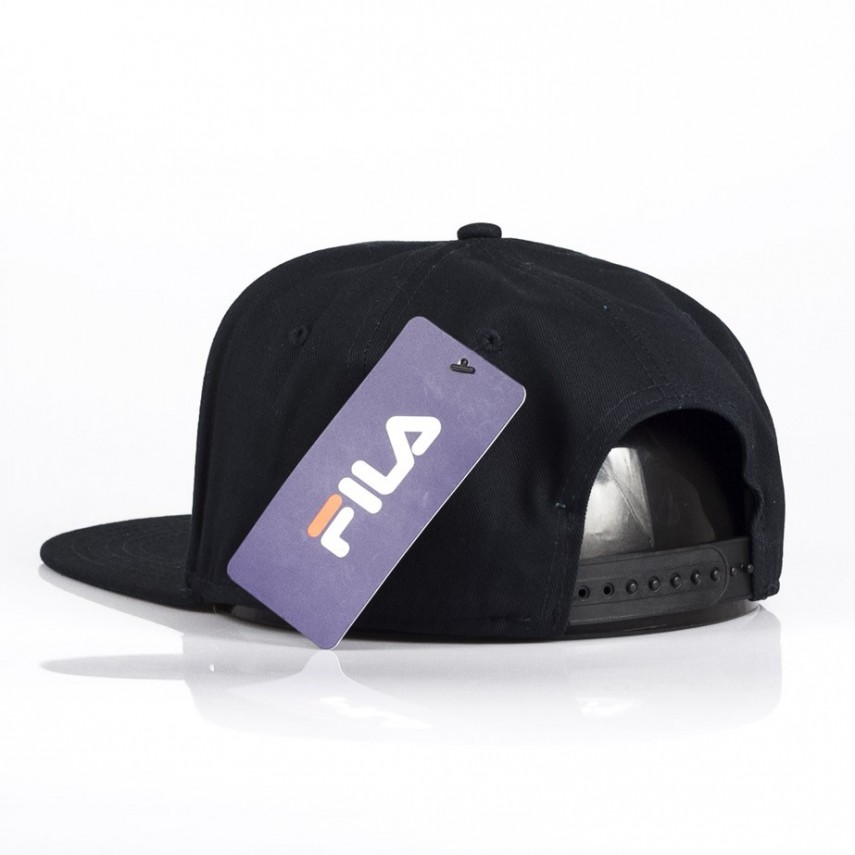 CAPPELLO SNAPBACK BASIC 6 PANEL CAP NERO  aa2958074635