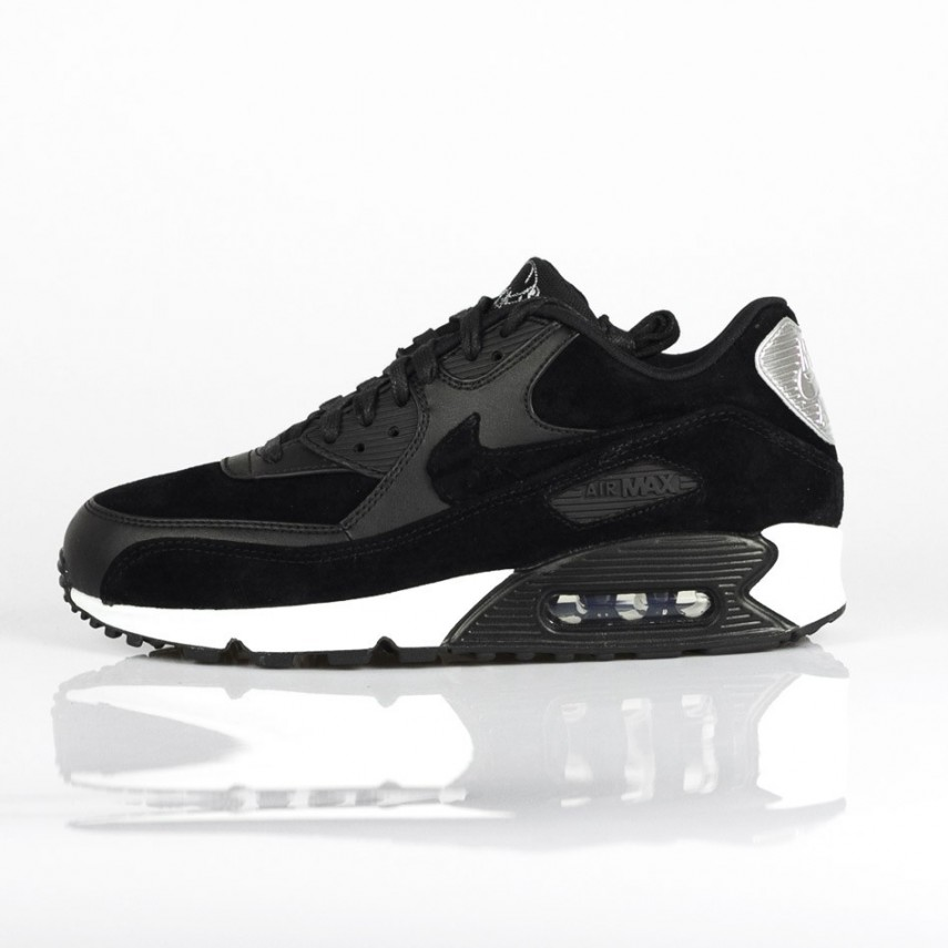 low priced 64628 e371e SCARPA BASSA AIR MAX 90 PREMIUM NERO  Atipicishop.com