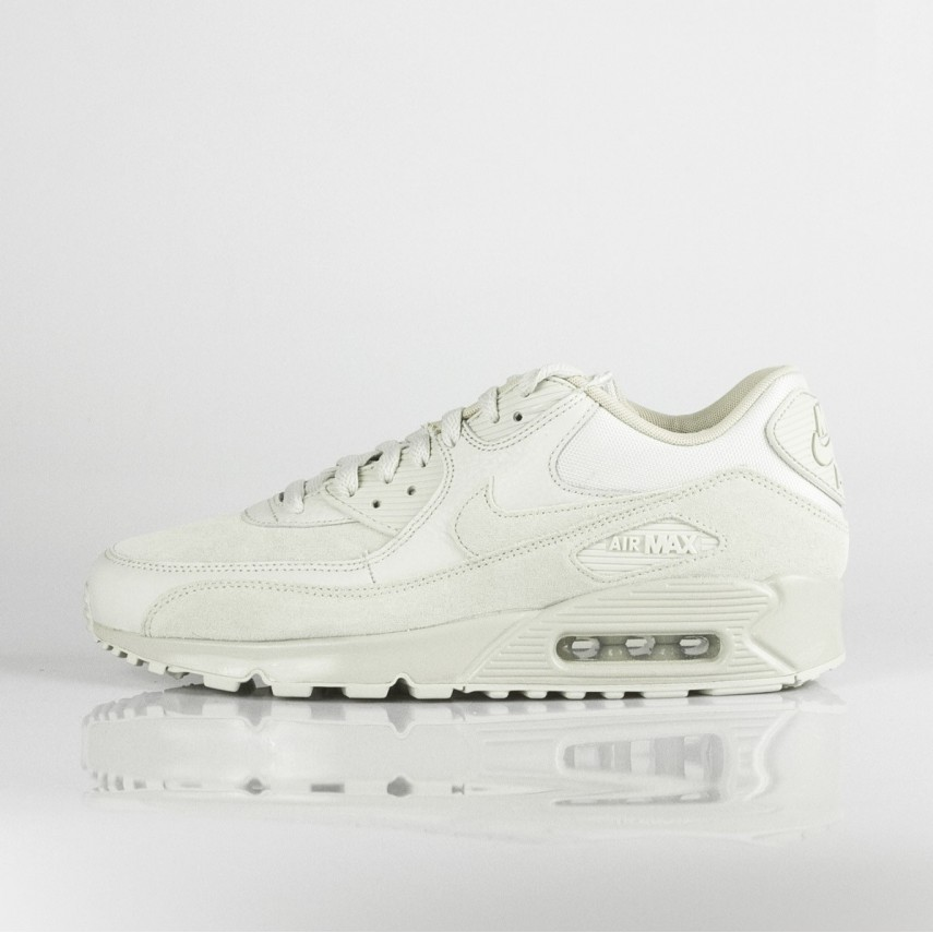 new styles 46af4 6f46f SCARPA BASSA AIR MAX 90 PREMIUM LIGHT BONE/STRING | Atipicishop.com