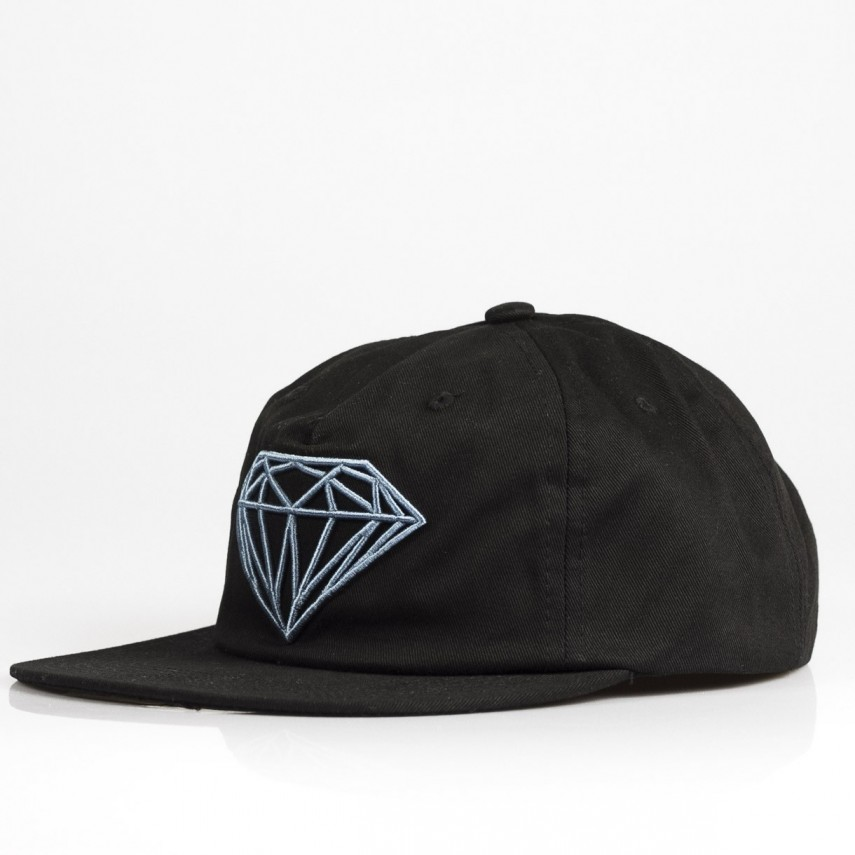 f838874fe37 DIAMOND SUPPLY. CAPPELLO SNAPBACK BRILLIANT UNCONSTRUCTED SB F17 BLACK TEAL