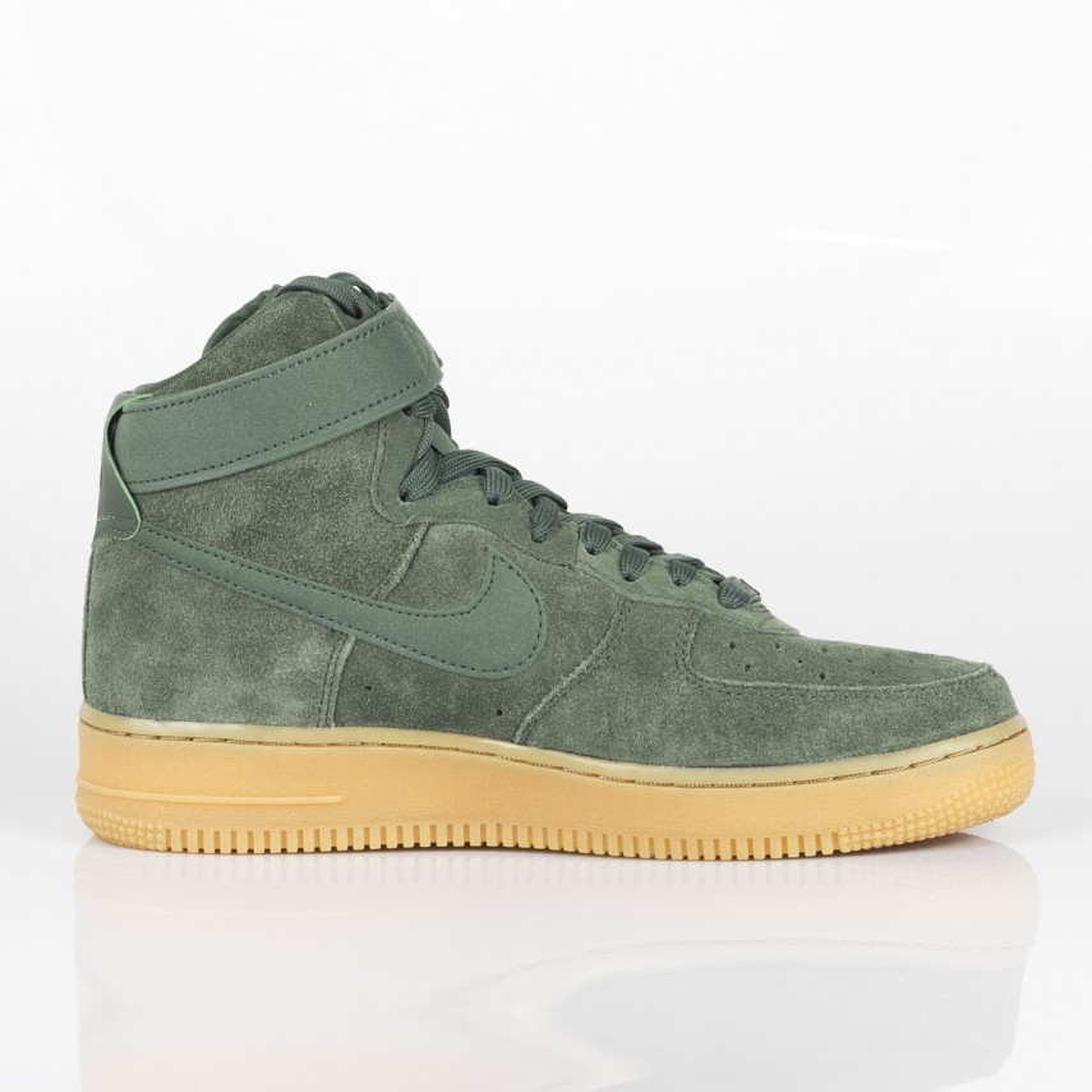 Sneaker alte Nike Air Force 1 high beige, scarpe per ragazzi