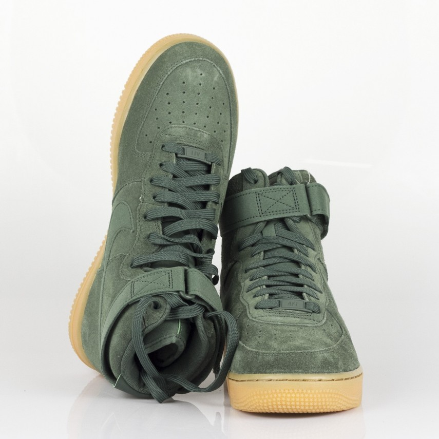 free shipping 8fa4d cbe52 SCARPA ALTA AIR FORCE 1 HIGH 07 LV8 SUEDE VINTAGE GREEN/VINTAGE GREEN