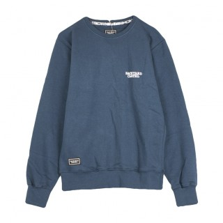 FELPA GIROCOLLO SWEATSHIRT BACK LABEL C