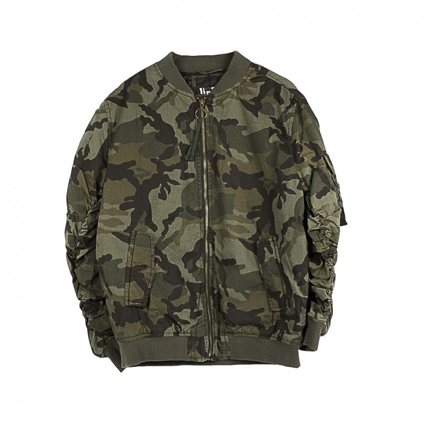 separation shoes e0929 8d76f GIUBBOTTO BOMBER VINTAGE CAMO COTTON BOMBER JACKET WOOD CAMO |  Atipicishop.com
