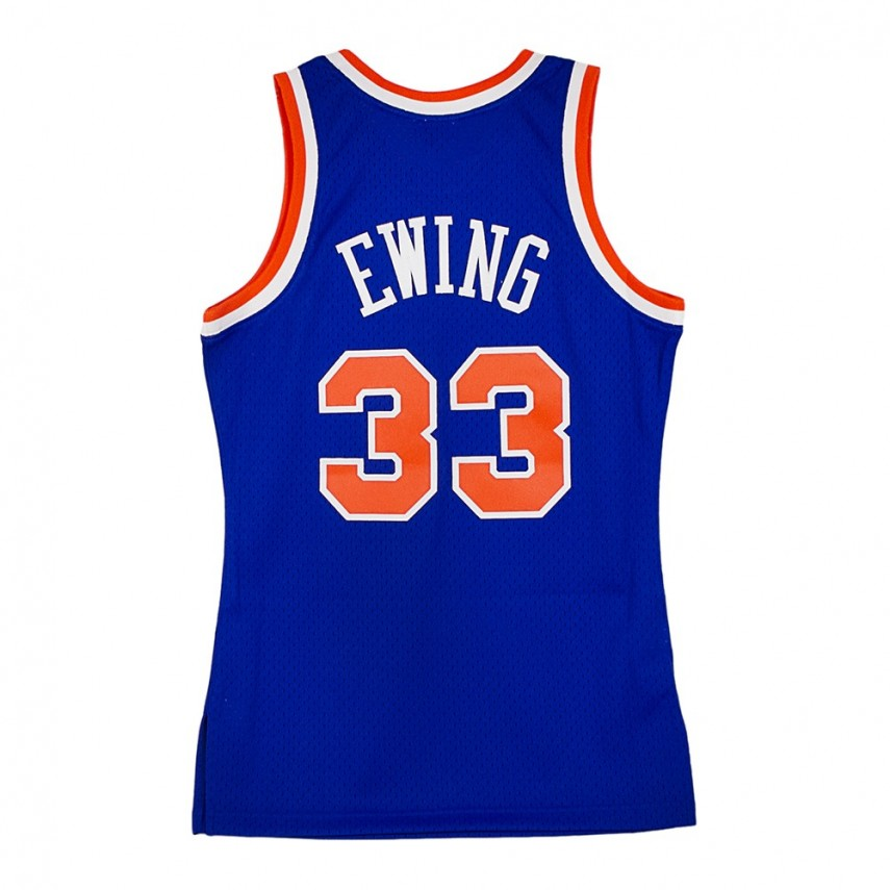 size 40 5982a c8cd0 CANOTTA SWINGMAN JERSEY PATRICK EWING NO33 NEYKNI BLUE/ORANGE