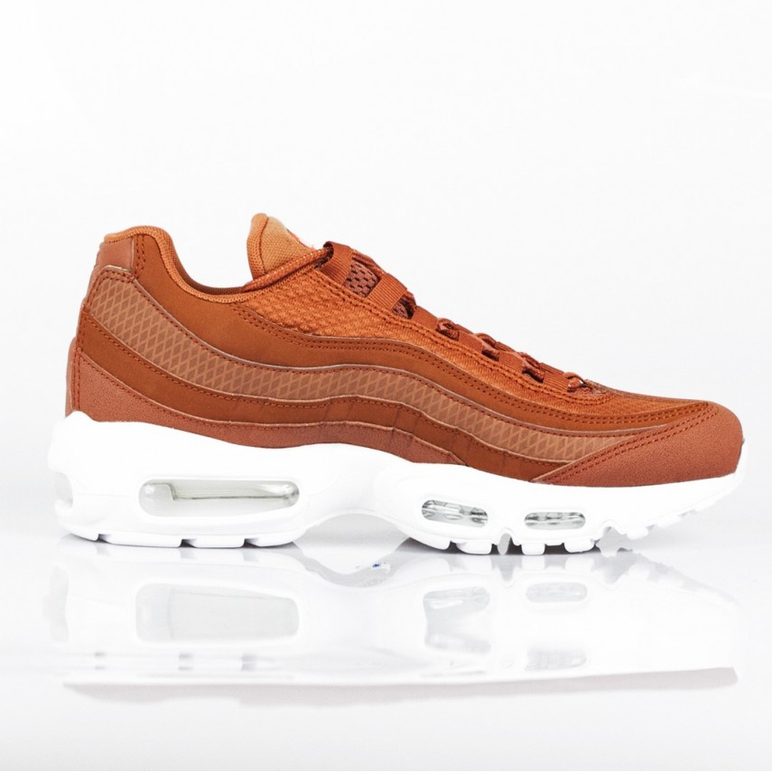 on sale 98058 1bfee SCARPA BASSA NIKE AIR MAX 95 PREMIUM SE DUSTY PEACH/DUSTY PEACH/WHITE