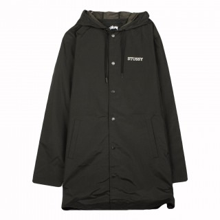 COACH JACKET TONY LONG HOODED COACH JACKET stg