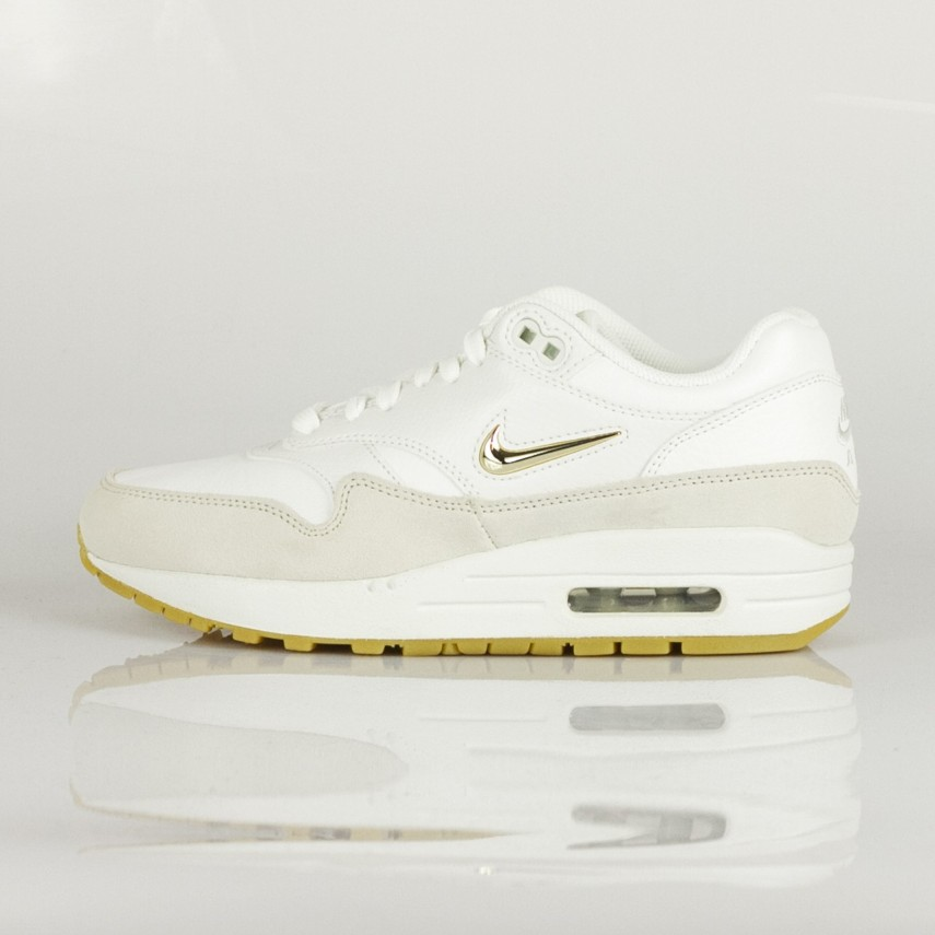nike air max 1 premium sc dames wit