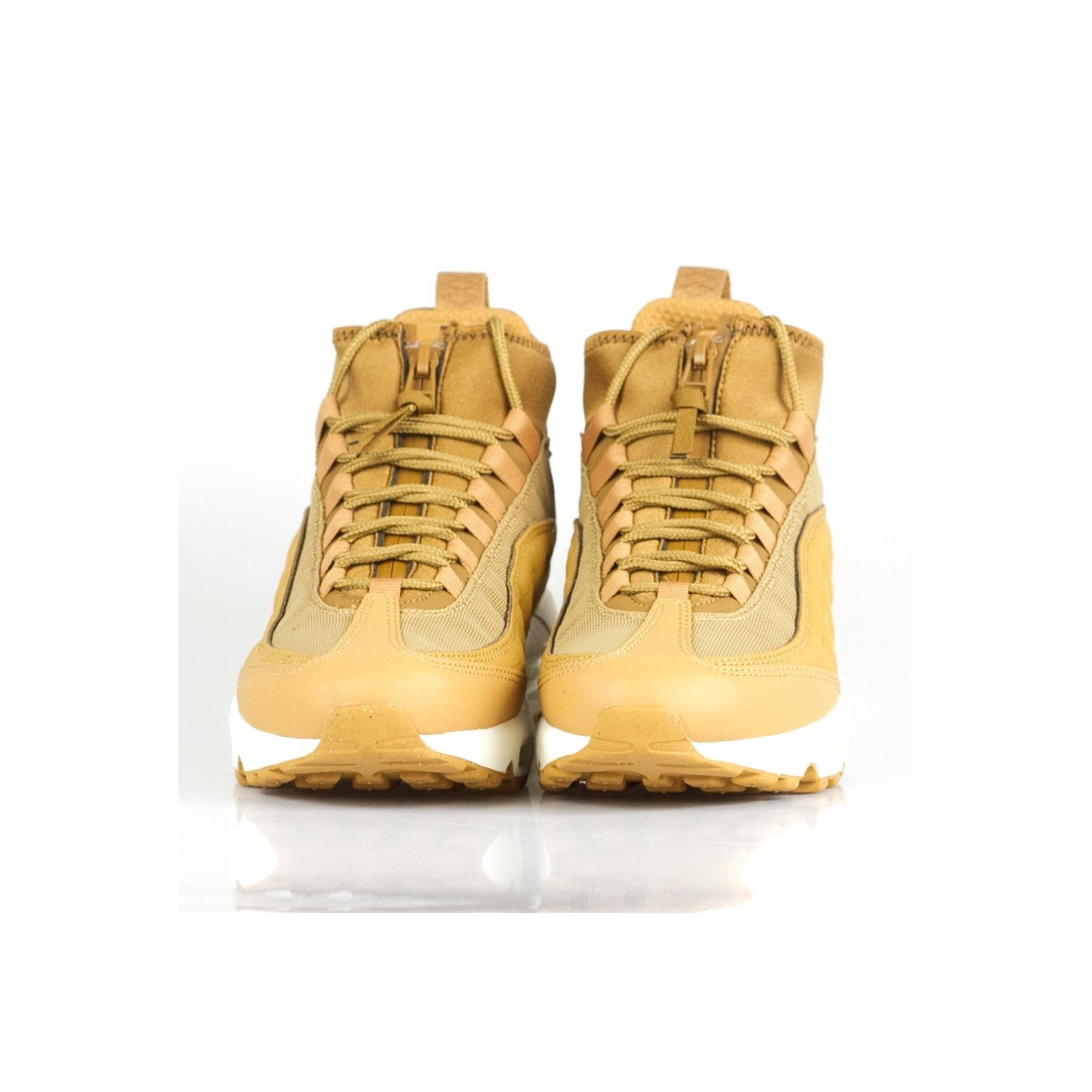 scarpa alta uomo air max 95 sneakerboot FLAX/FLAX/ALE BROWN/SAIL