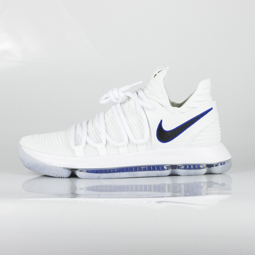 finest selection f860c e364f ZOOM KD 10 X KEVIN DURANT WHITE/GAME ROYAL/UNIVERSITY GOLD | Atipicishop.com