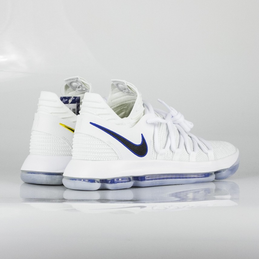 size 40 fc0e6 7cf52 ZOOM KD 10 X KEVIN DURANT WHITE/GAME ROYAL/UNIVERSITY GOLD