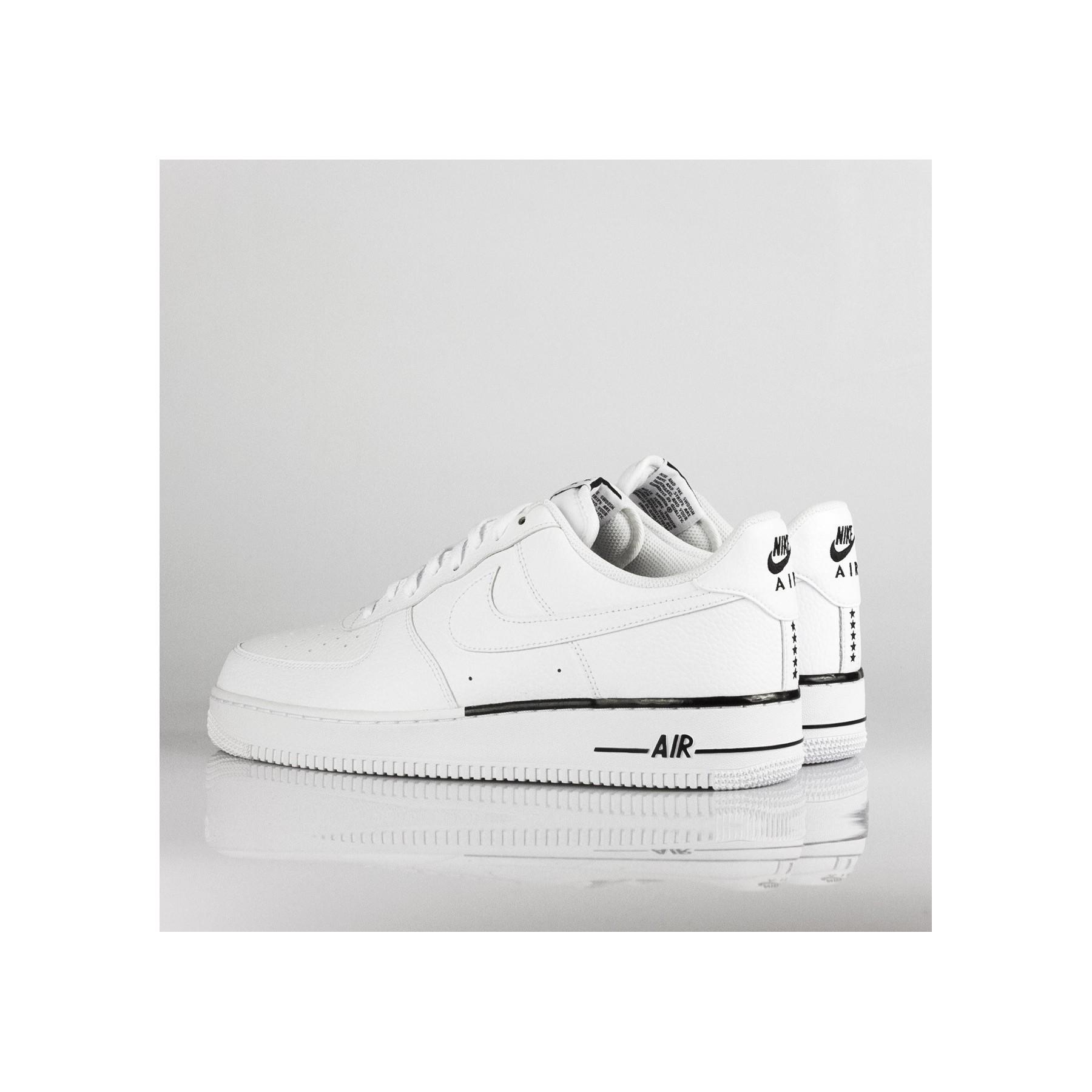 air force 1 bianco basse