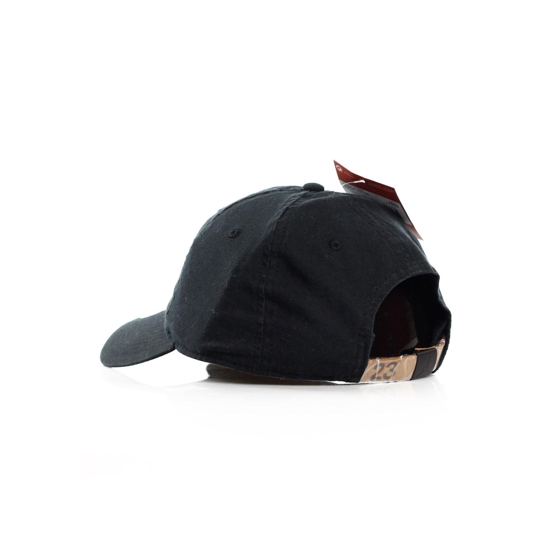 CAPPELLO VISIERA CURVA JORDAN H86 JUMPMAN WASHED BLACK BLACK ... 82c859444e0
