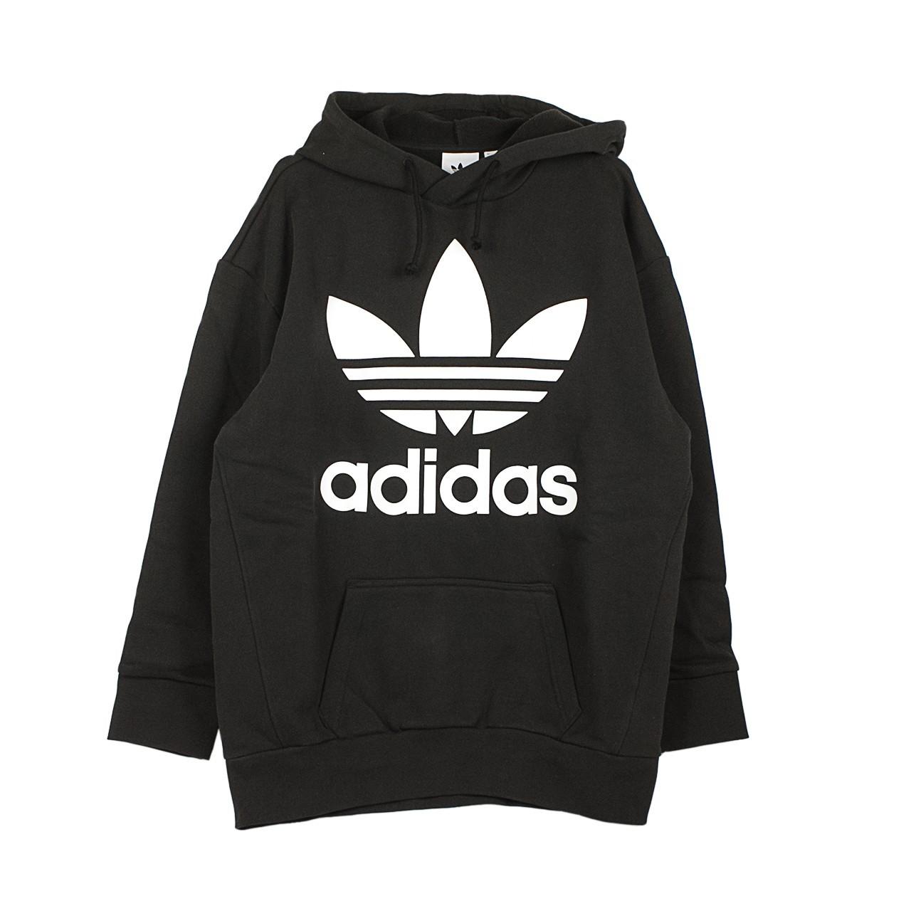 felpa adidas black and white