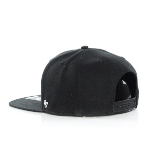 CAPPELLO SNAPBACK CAPTAIN SURE SHOT BLACK  WHITE NEYYAN stg