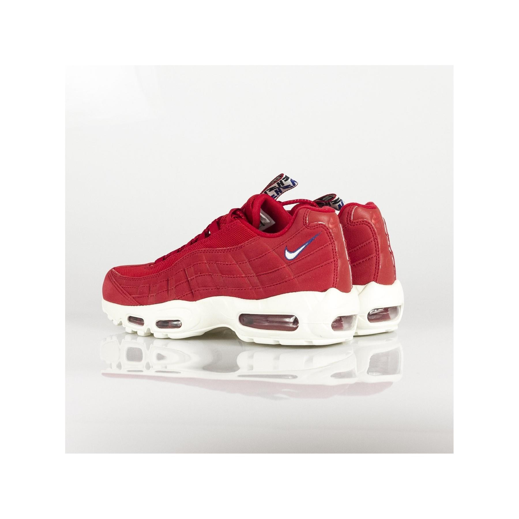 low sneaker man air max 95 tt GYM RED/SAIL/GYM BLUE